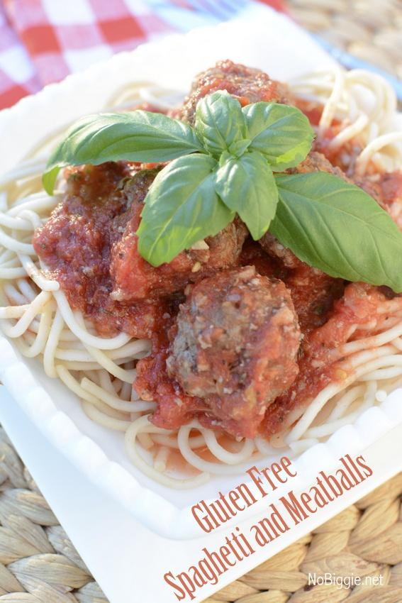 gluten free spaghetti and meatballs | NoBiggie.net