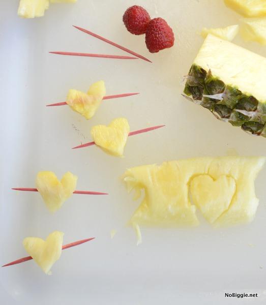 pineapple heart garnish | NoBiggie.net