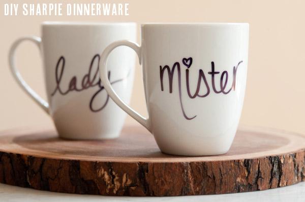 DIY sharpie mugs | 25+ Sharpie Crafts