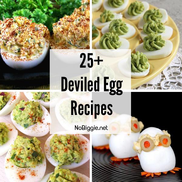 25+ deviled egg recipe ideas   NoBiggie.net