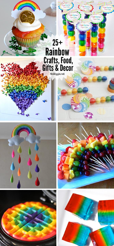 25+ rainbow food crafts gifts decor | NoBiggie.net