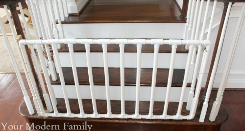 DIY PVC Wide Staircase Gate | 25+ Things To Make With PVC Pipe