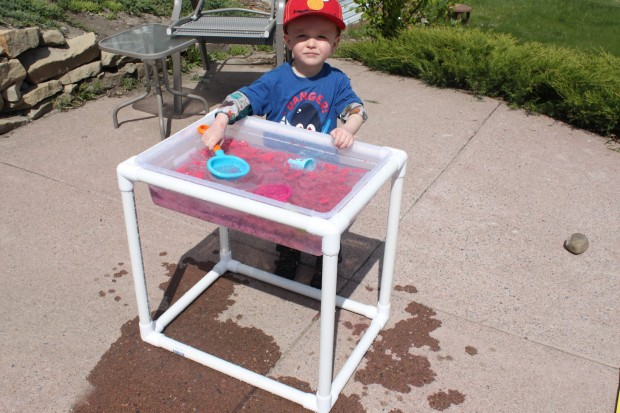 DIY Sensory Water-table | 25+ things to make with PVC Pipe