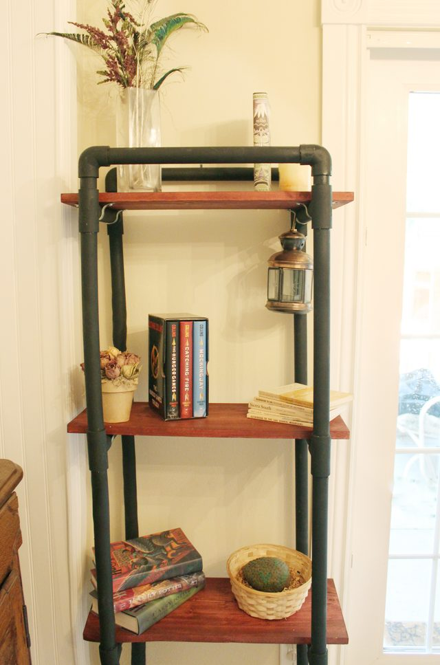 How to Make PVC Book Shelves | 25+ things to make with PVC Pipe