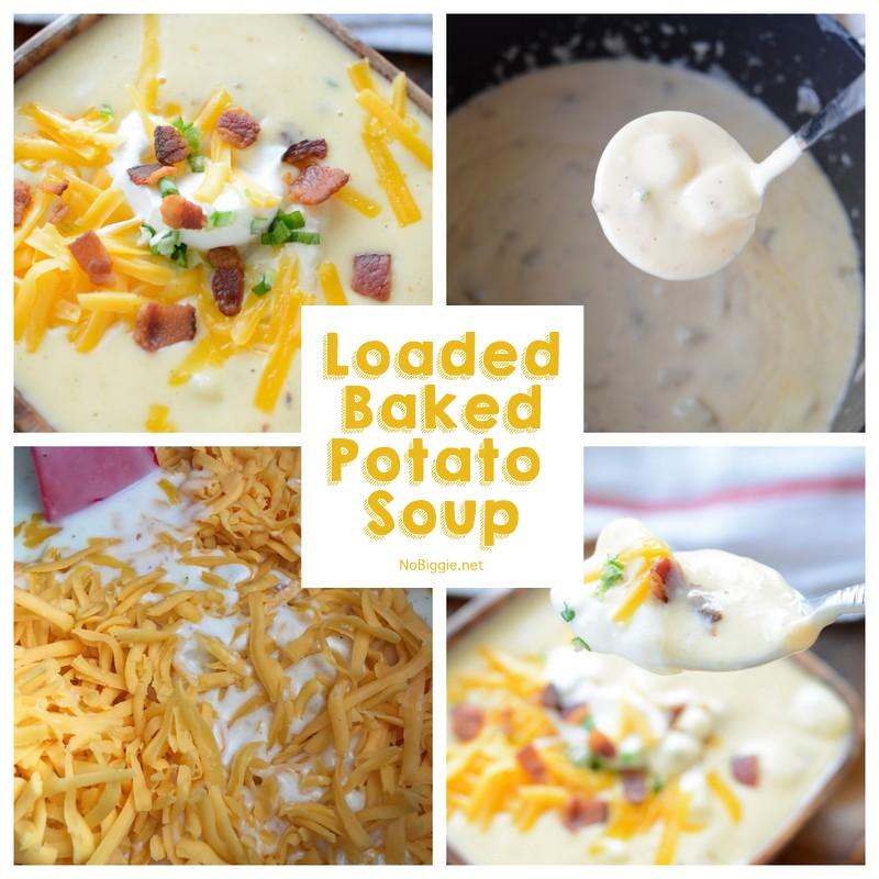Loaded baked potato soup | NoBiggie.net