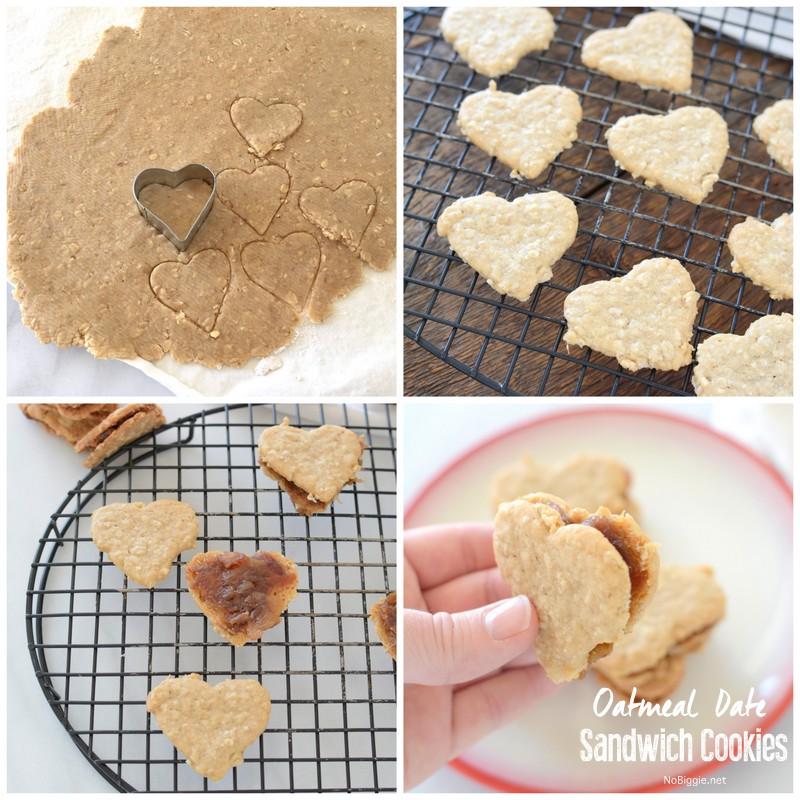 Oatmeal Date Sandwich Cookies   NoBiggie.net