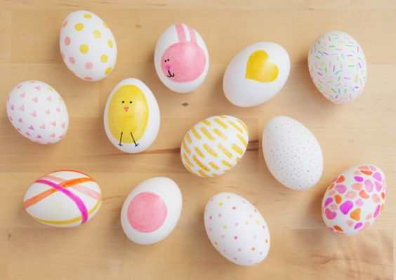 Sharpie Eggs | 25+ MORE ways to decorate Easter Eggs
