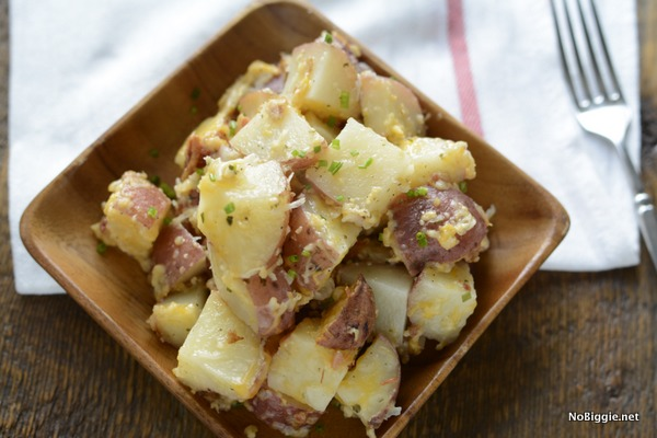 delicious crock pot bacon ranch cheese potatoes | NoBiggie.net