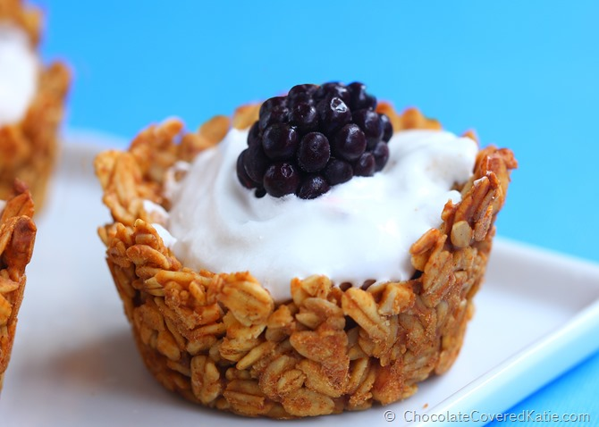 Breakfast Granola Cups | 25+ muffin tin recipes for kids