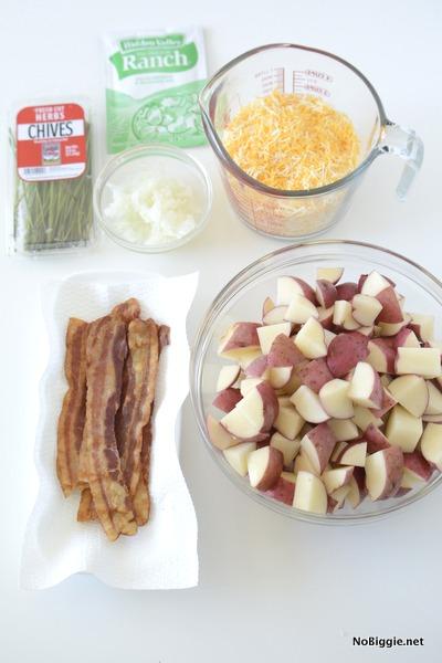 ingredients for crockpot potatoes | NoBiggie.net