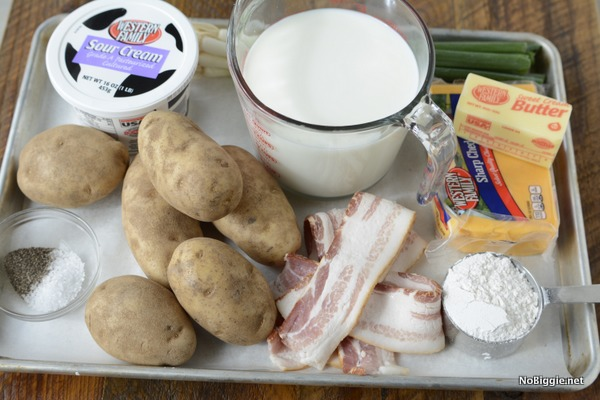 loaded baked potato soup ingredients | NoBiggie.net