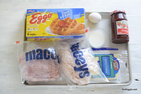 monte cristo sandwich waffles ingredients | NoBiggie.net