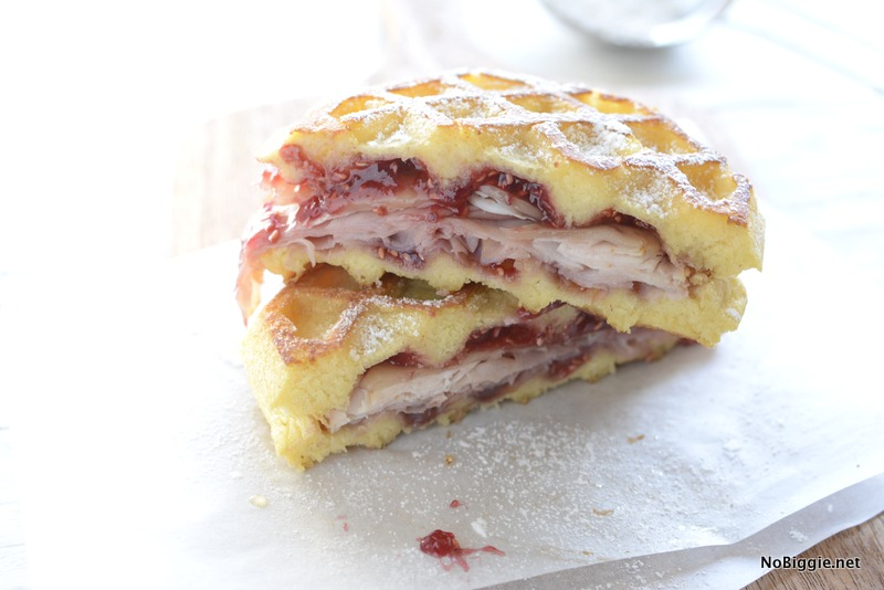 monte cristo sandwiches these waffle sandwiches are delish! | NoBiggie.net
