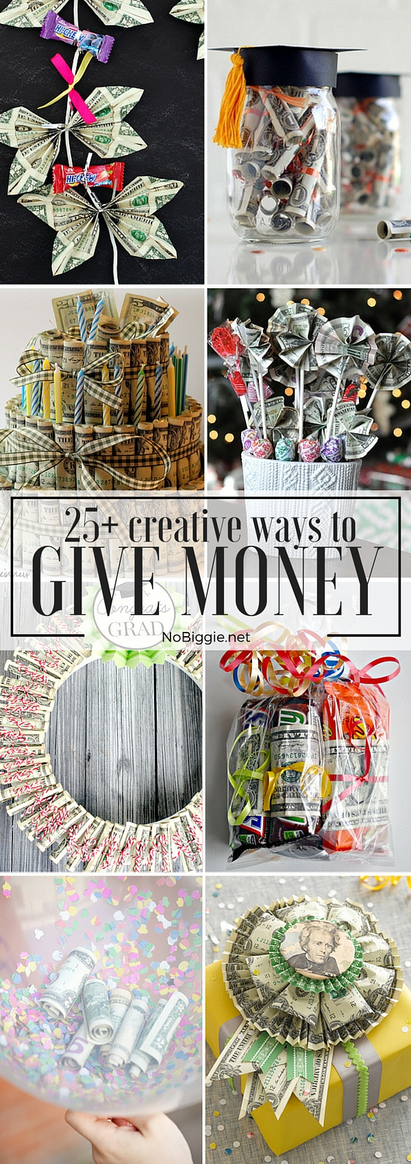 25+ Creative Ways to Give Money | NoBiggie.net