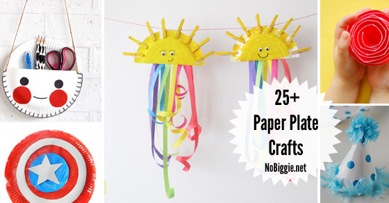 25+ Paper Plate Crafts | NoBiggie.net