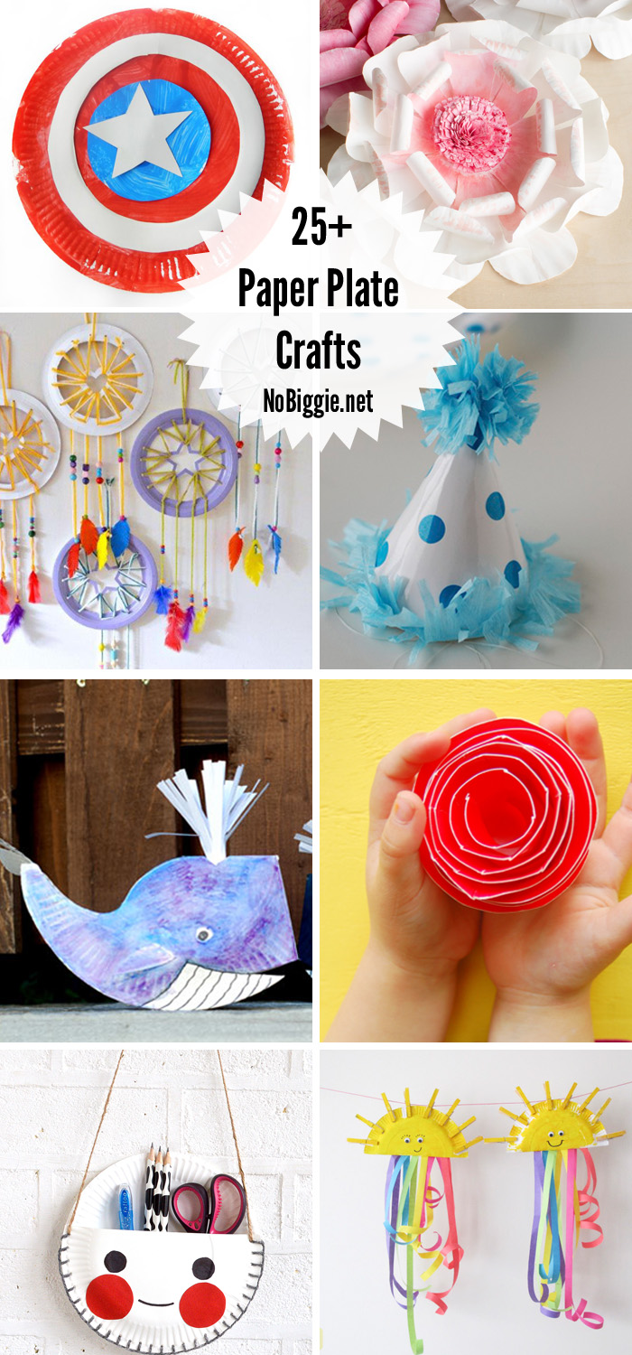 Paper Plate Crafts That Are Fun And Cute For Kids To Make With A