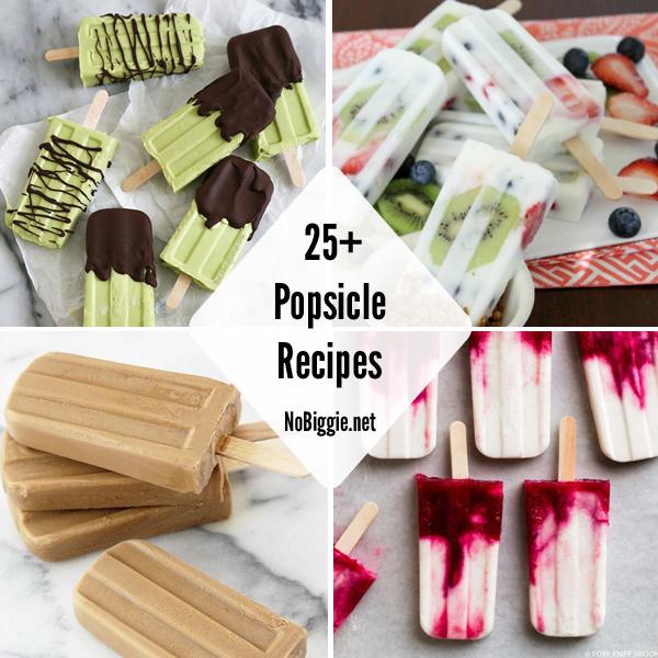 25+ Popsicle Recipes | NoBiggie.net