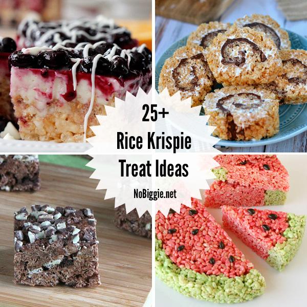 25+ Rice Krispie Treat Ideas | NoBiggie.net