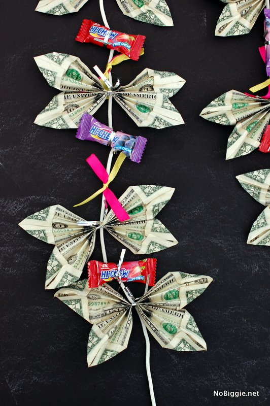 Butterfly Money Lei | 25+ Creative Ways to Give Money
