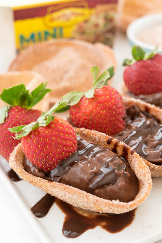 Chocolate Churro Pies | 25+ Churro Recipes