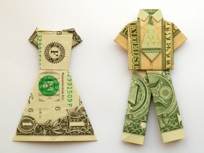 Clothes Money | 25+ Creative Ways to Give Money