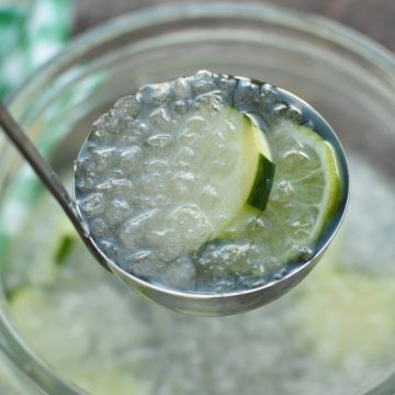Cucumber Limeade party punch | NoBiggie.net