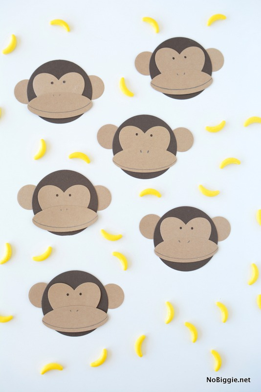 DIY paper monkeys | NoBiggie.net