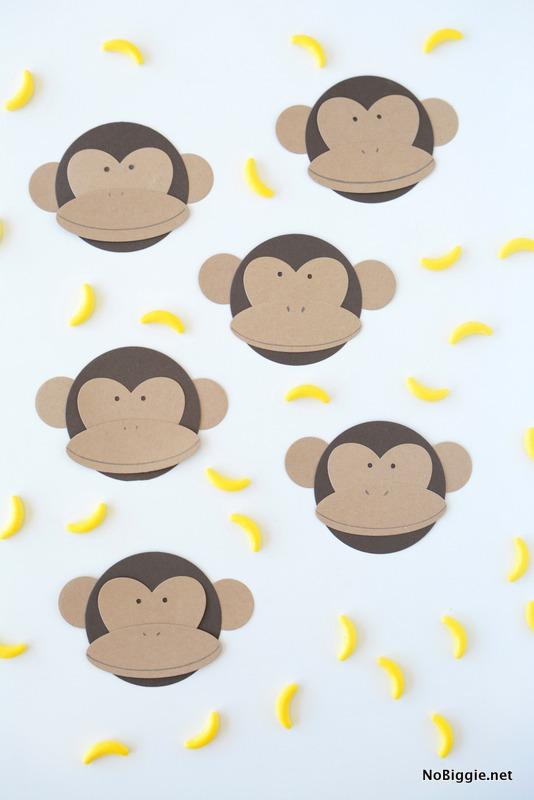 DIY paper monkeys | NoBiggie.net