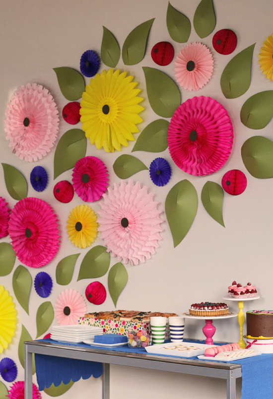 25 paper flower crafts nobiggie meadow flower wall 25 paper flower crafts mightylinksfo