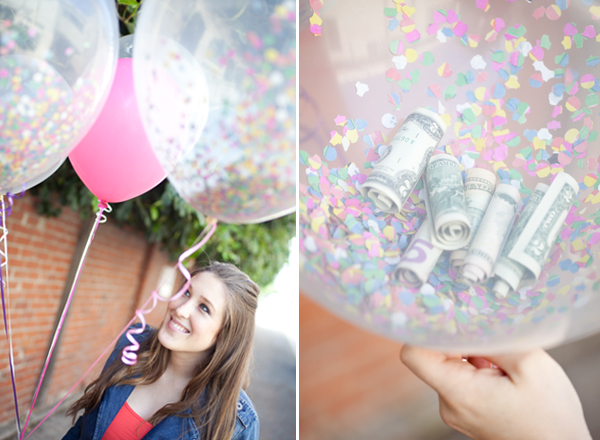 Money Balloons | 25+ Creative Ways to Give Money