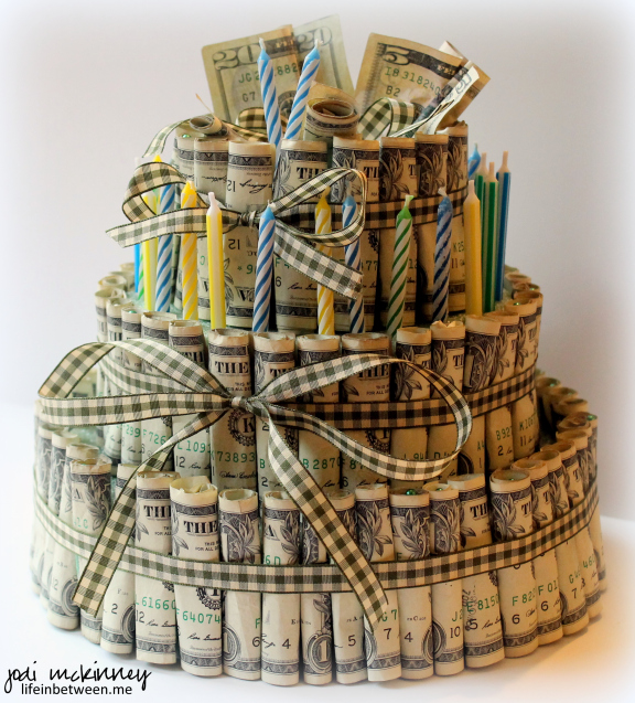 Money Cake | 25+ Creative Ways to Give Money