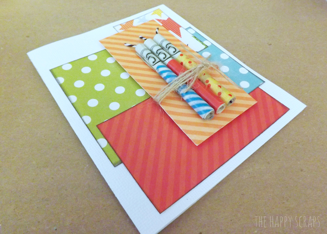 Money Candle Card | 25+ Creative Ways to Give Money
