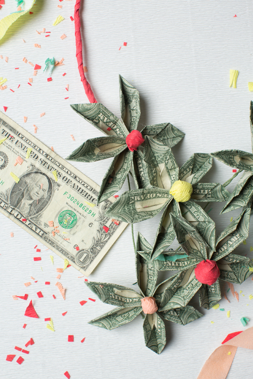 Money Necklace | 25+ Creative Ways to Give Money