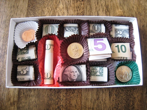 Money Valentine Chocolate | 25+ Creative Ways to Give Money