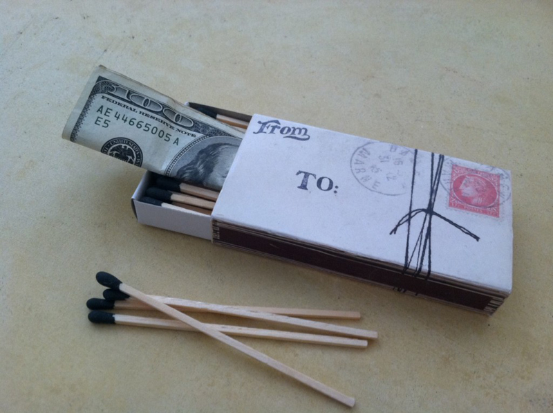 Money to Burn | 25+ Creative Ways to Give Money