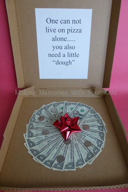 Pizza Dough | 25+ Creative Ways to Give Money