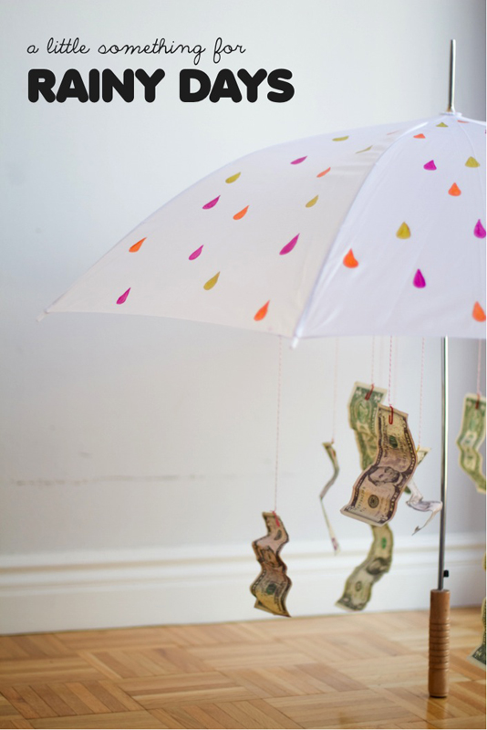 Rainy Day Fund | 25+ Creative Ways to Give Money