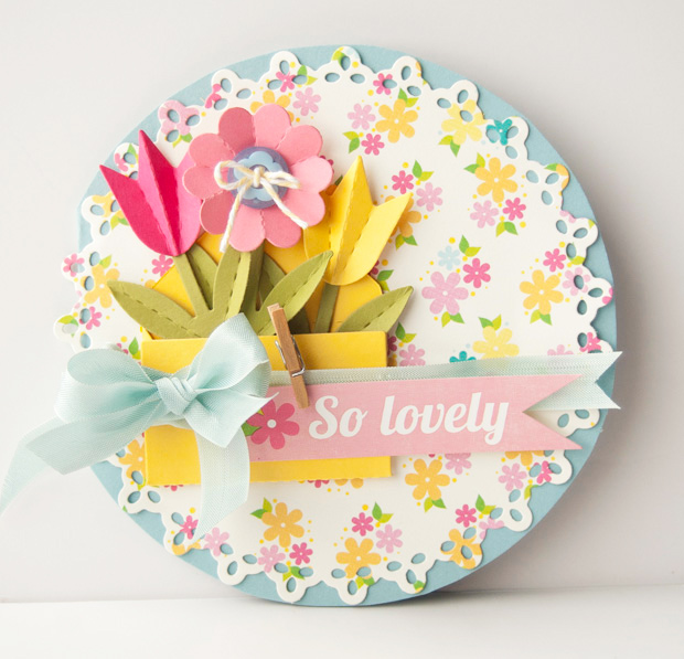 25 paper flower crafts nobiggie so lovely paper flower card 25 paper flower crafts mightylinksfo Images