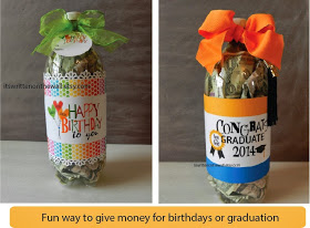 Soda Pop Cash | 25+ Creative Ways to Give Money