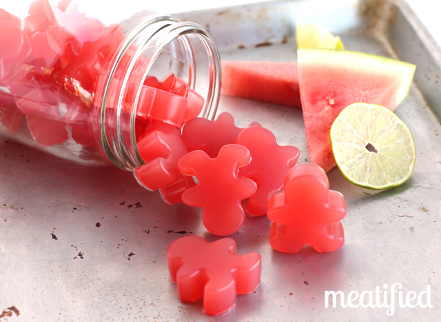 Sour Watermelon Homemade Gummies | 25+ Watermelon recipes