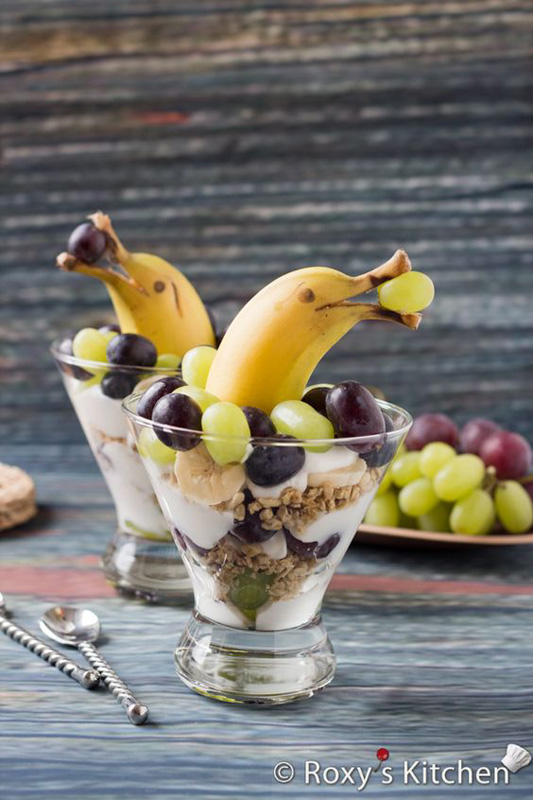 banana dolphins | 25+ Cute & Healthy Snacks