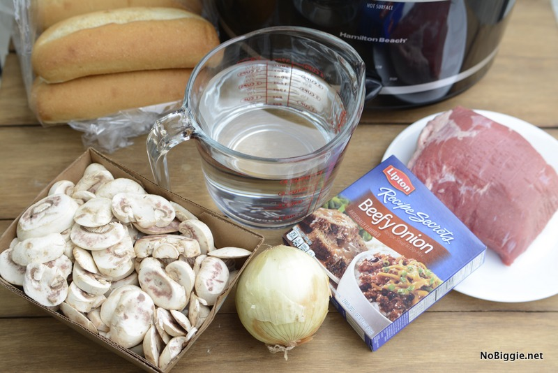 french dip sandwich ingredients | NoBiggie.net