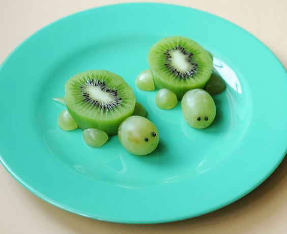 fruit turtles | 25+ Cute & Healthy Snacks