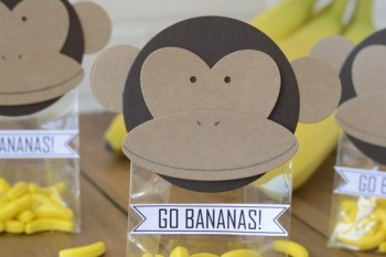 DIY Monkey Party favors