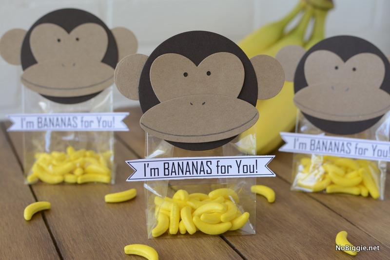 I'm bananas for you treat bag | NoBiggie.net | NoBiggie.net