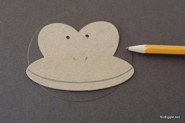 paper monkey face | NoBiggie.net