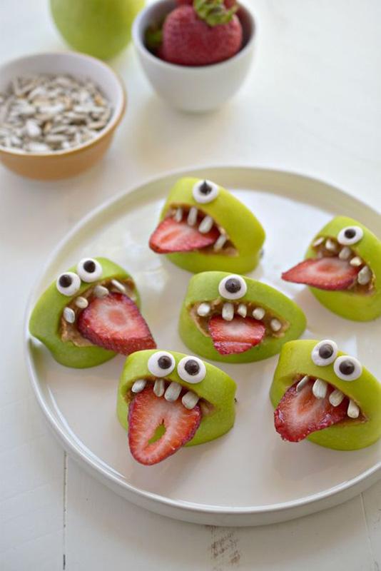 halloween veggie treats