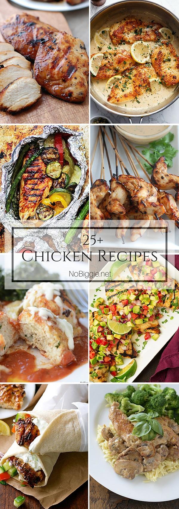 25+ Chicken Recipes   NoBiggie.net