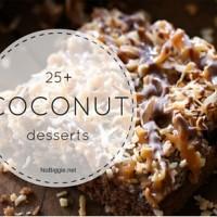 25+ Coconut desserts