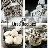 25+ Oreo Recipes